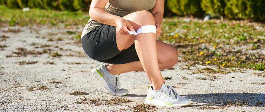 Potpora - za koljena i zglob ruke!